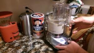 Making oat flour
